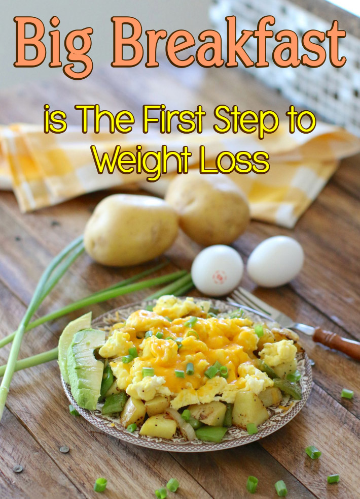Big Breakfast is The First Step to Weight Loss