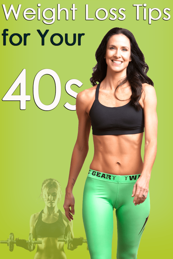 Weight Loss Tips for Your 40s