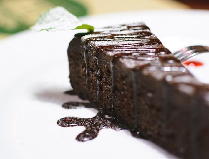 Flourless Chocolate Keto Cake