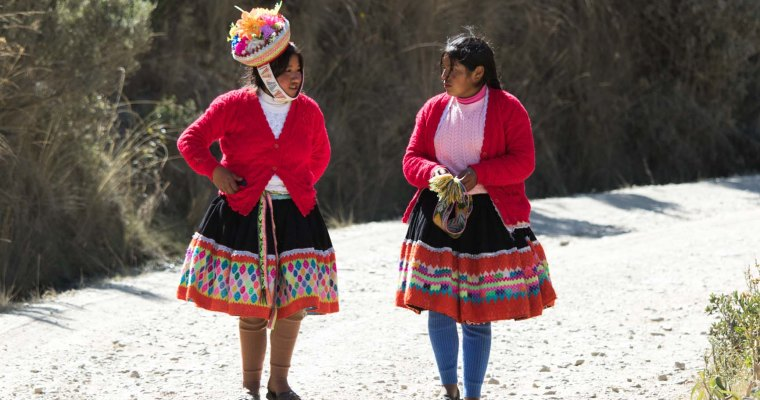 End the Lares trek and a festival