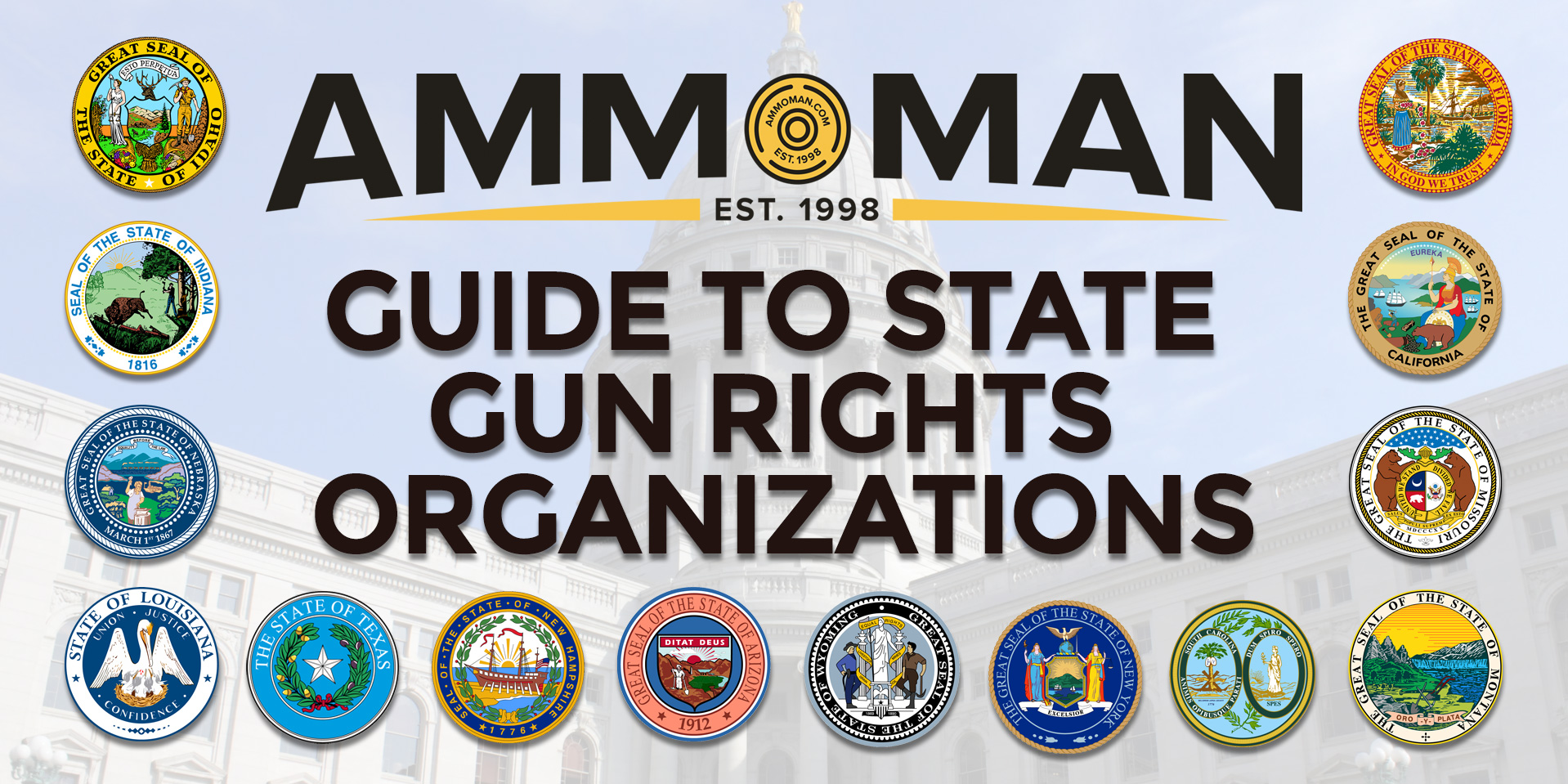 A Guide To State Gun Rights Groups
