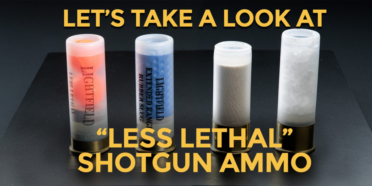 "What Makes A Round ""Less Lethal?"""
