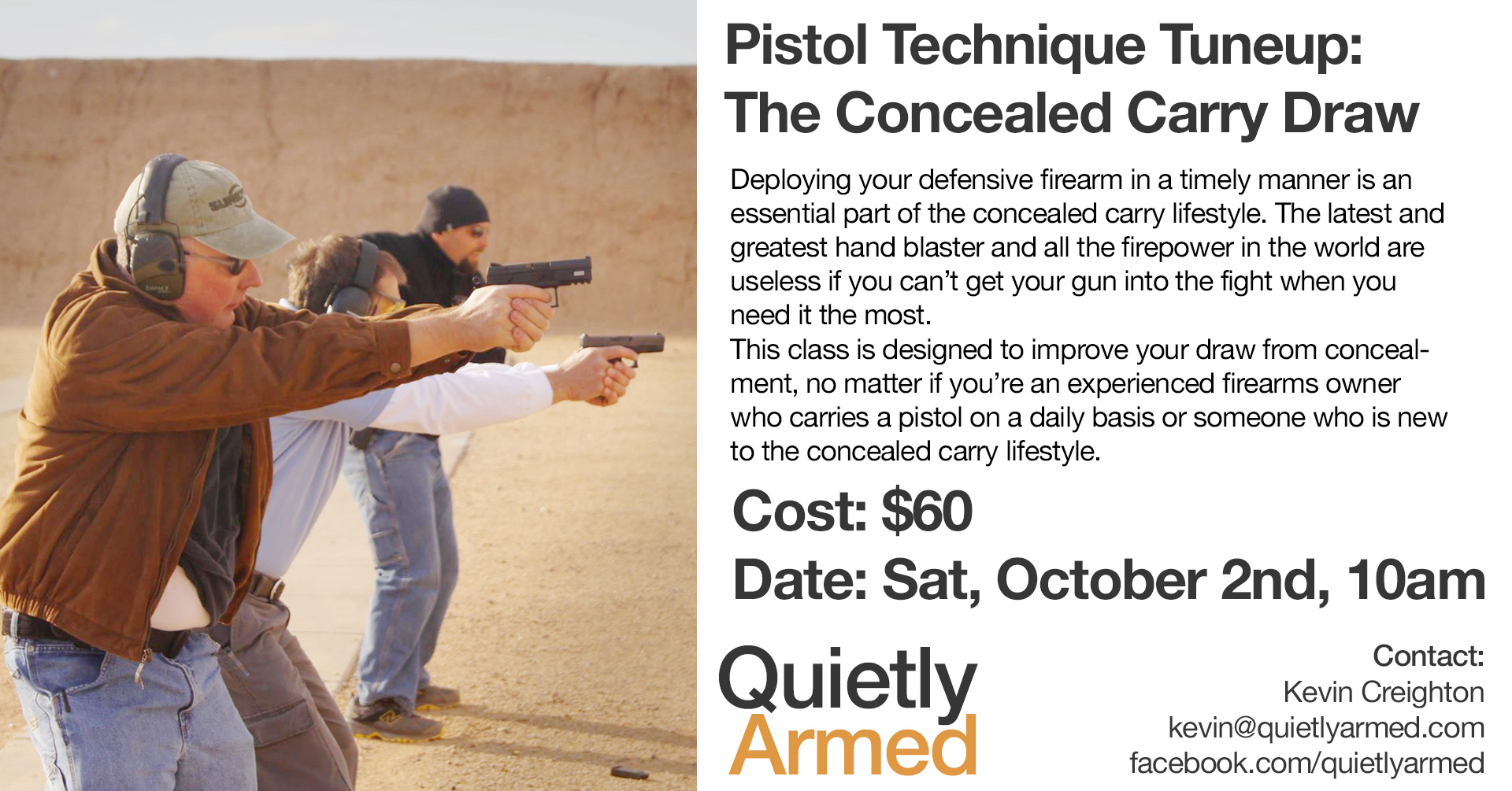 Concealed Carry Draw