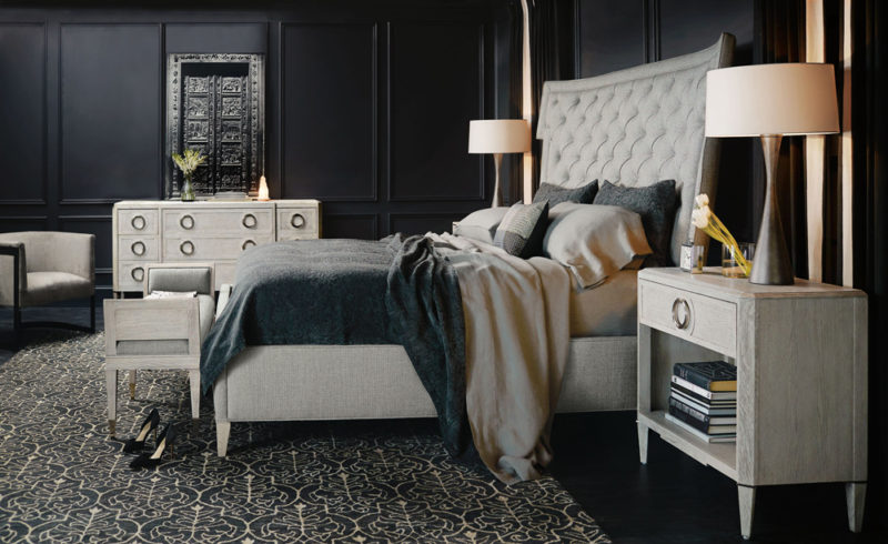 Domaine Blanc is a neo-traditional collection where classic forms are updated with subtle flourishes.