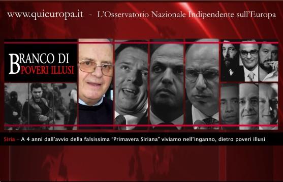 siria - primavera siriana - mons Nazzaro