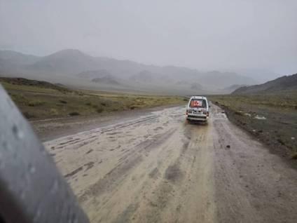 Conduciendo en MONGOLIA 1 (Personalizado)
