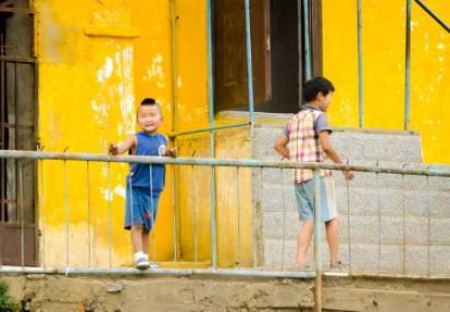 Foto de niños en Ulan Bator (Personalizado)