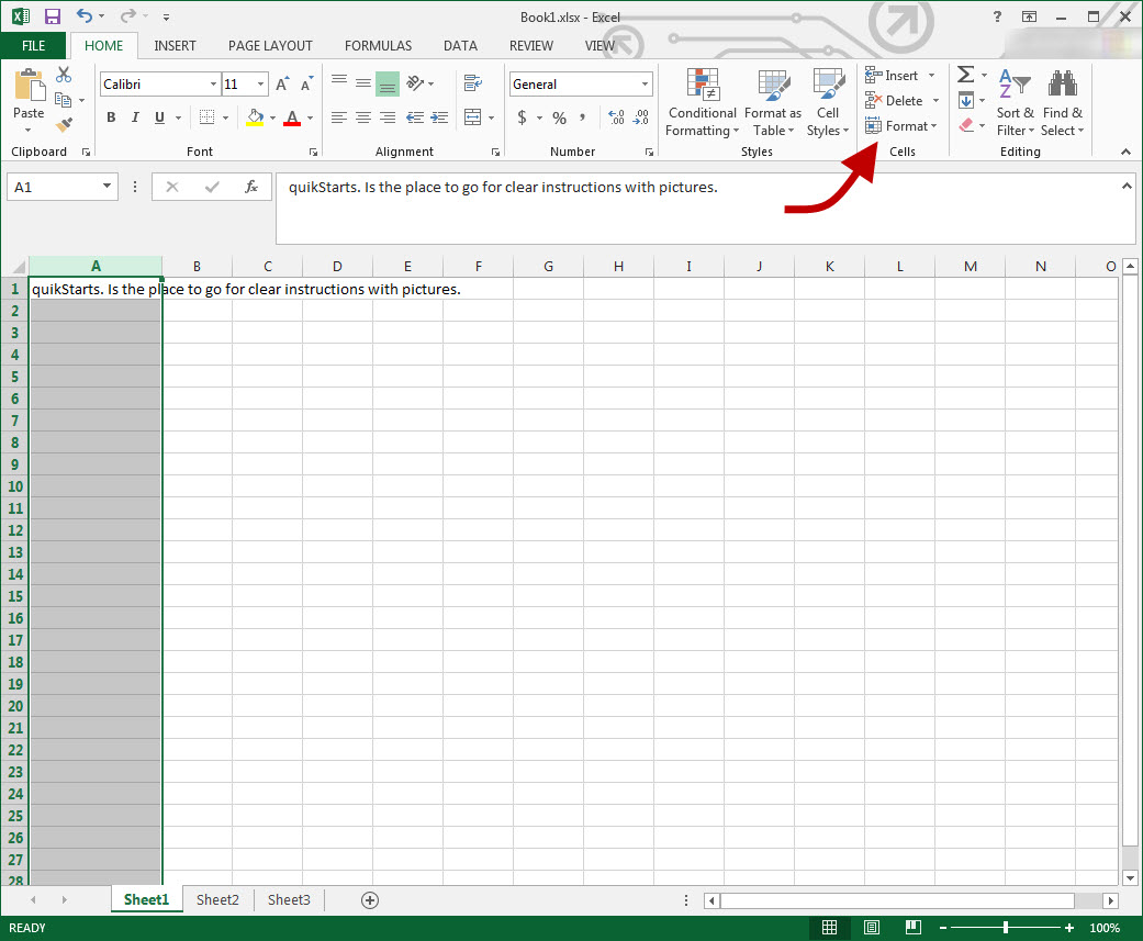 How To Make All Cells Autofit In Excel