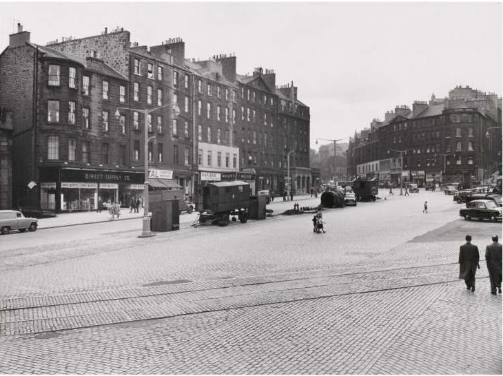 Image result for central edinburgh 1950