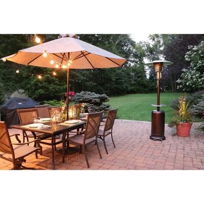 patio heaters heat lamps