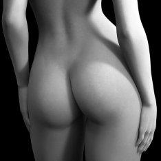 butt region