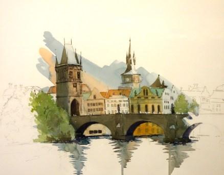 Charles bridge , Prague, SOLD