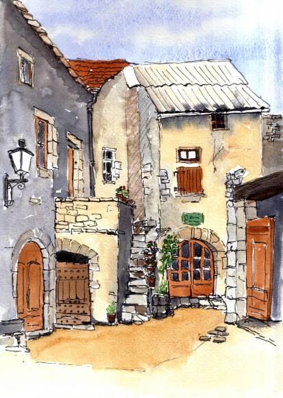 La Couvertoirade, France, Sold