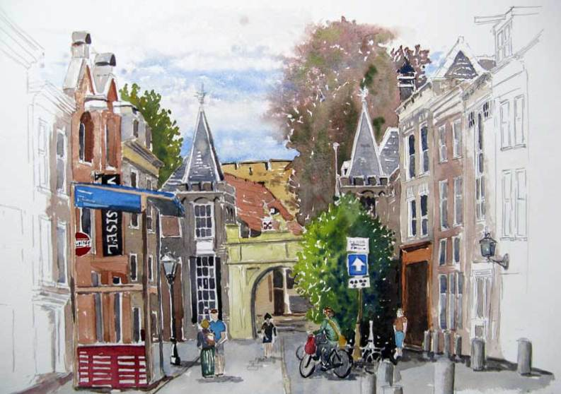 Cycling Leiden, Netherlands, Sold
