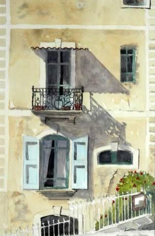 Windows, Soubes, France, Sold
