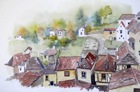 In the Lot Valley, France, Sold