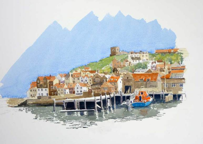 Whitby Harbour, England, Sold