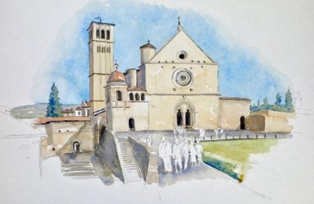 Basicila of St Francis at Assissi, Sold