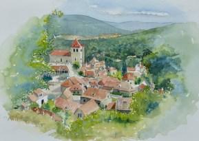 Saint-Cirq-Lapopie, Lot Valley, France, SOLD