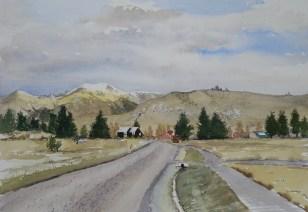 Torlesse Range from Castle Hill Village, SOLD