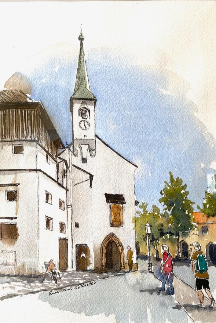 In Salzburg Castle,