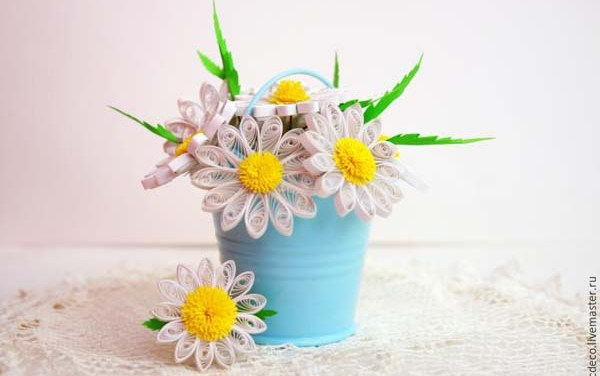 Realistic Paper Quilled Daisies Tutorial