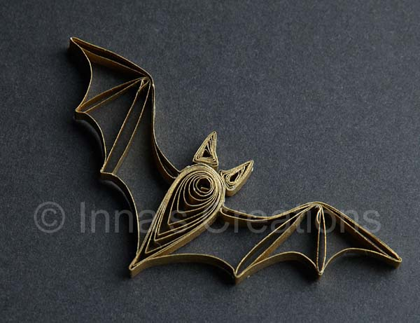 quilling-bat pattern