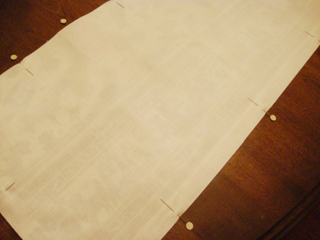 Tutorial How To Make Tab Top Valances