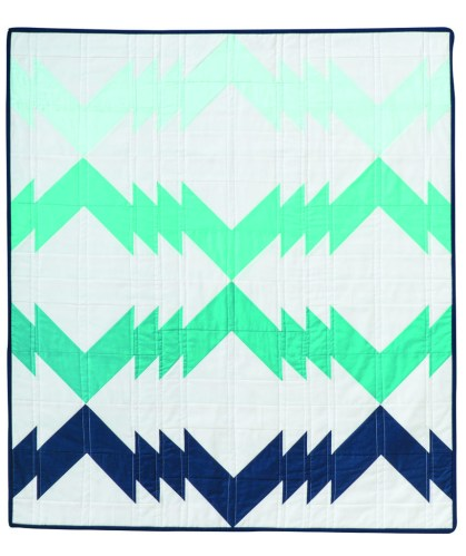 Electric Wave Quilt Pattern