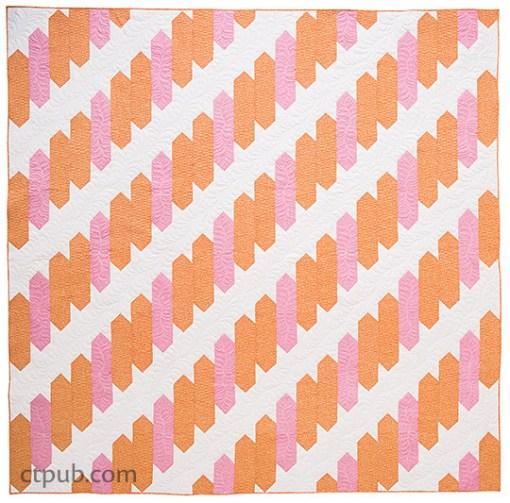Log Cabin Braid Quilt Pattern