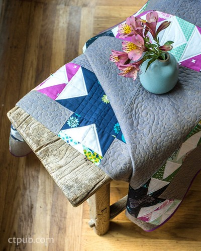 Scrap Patchwork Quilt Pattern