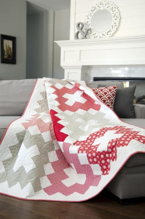 Retro Block Quilt Pattern