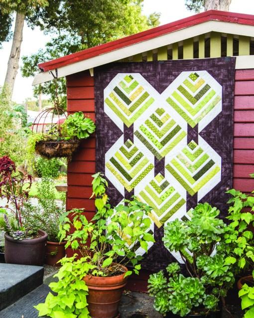 Forest Strip Quilt Pattern