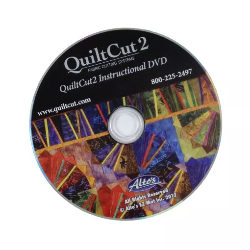 QuiltCut Instructions DVD