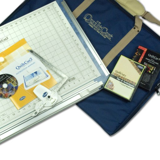 QuiltCut2 Deluxe Kit w/ Carrying Case