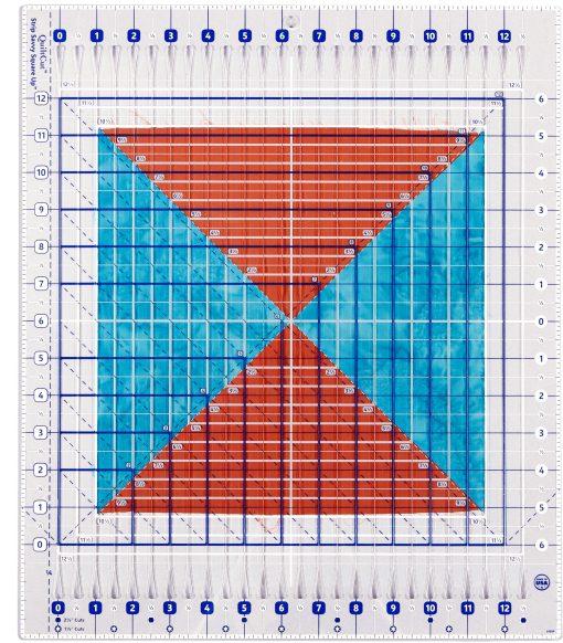 QC2-SU red-blue fabric
