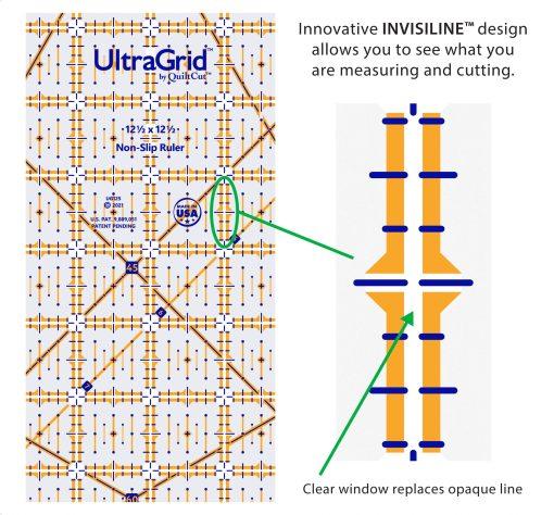 12.5 square invisiline