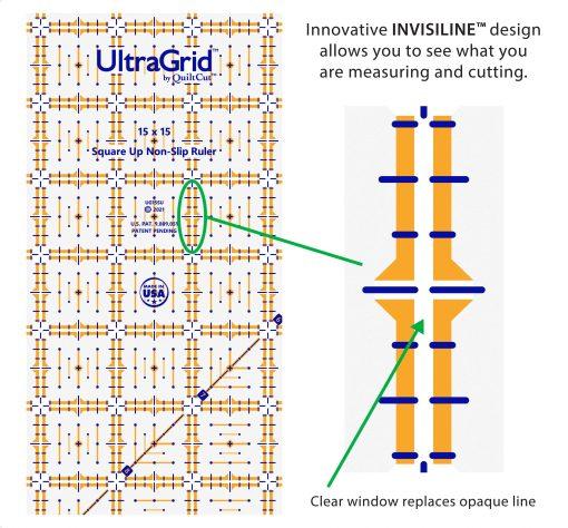 15 square up invisiline