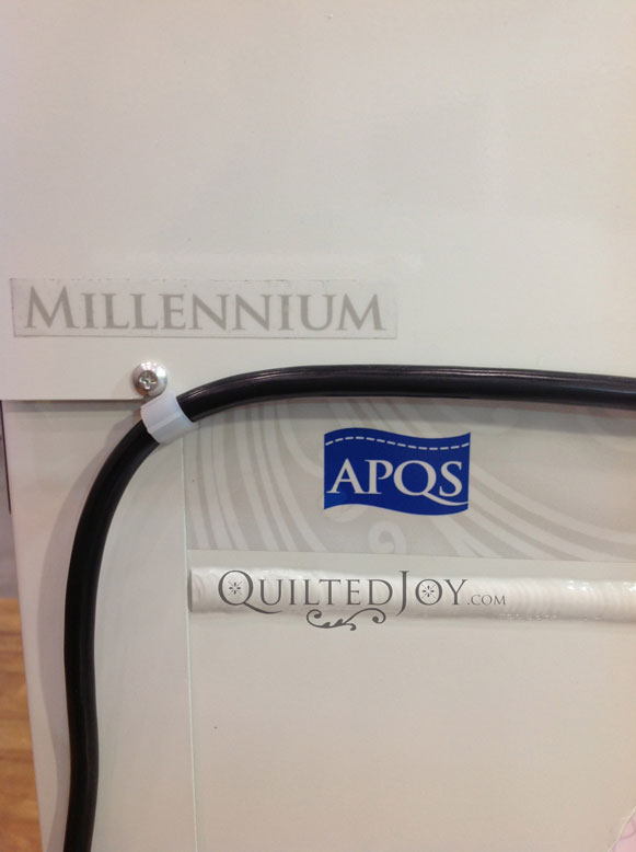 Apqs Mille Longarm Quilting Machine At Quilted Joy