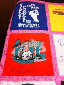 golf shirt quilt