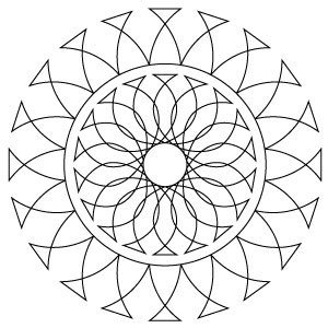 Arched Path Medallion