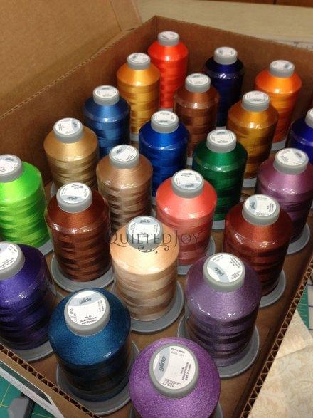 thread for longarm quilting machine rental