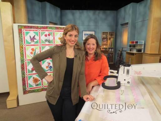 Mary Fons and Angela Huffman