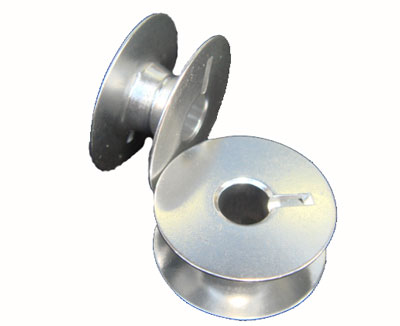 Aluminum bobbins for APQS machines