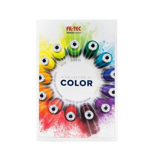 Glide Thread Color Card