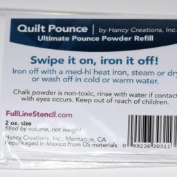 Quilt Pounce Powder Chalk Refill Ultimate White