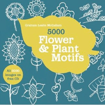 5000 plant and flower motifs