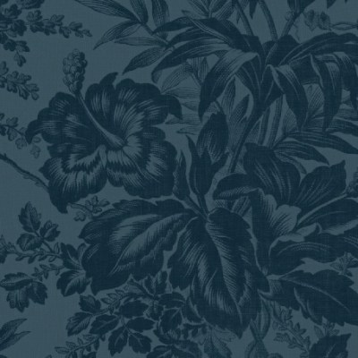 Bouquet Floral Blue is a tone on tone floral wide back fabric in navy blue from Windham Fabrics. Available at QuiltedJoy.com