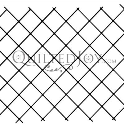 """1"""" Diagonal Grid"""