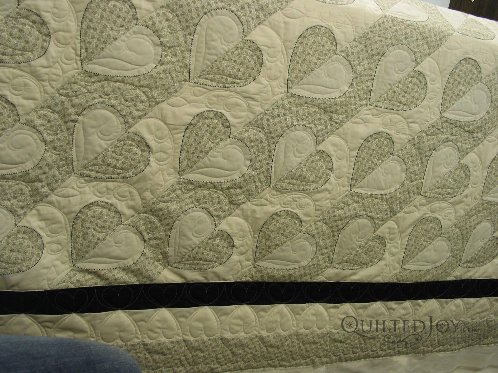 Sandy's Maderia Heart Wedding Quilt - : madeira quilt - Adamdwight.com